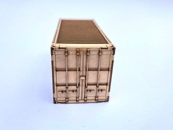 LX167-N 20ft Shipping Container Kit (Pack of 2) N/2mm/1:148